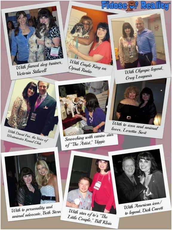 Carol Bryant with Celebrities