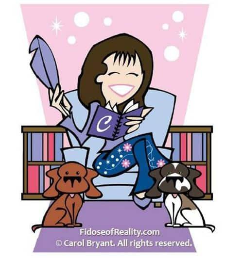 Dog blogger Carol Bryant