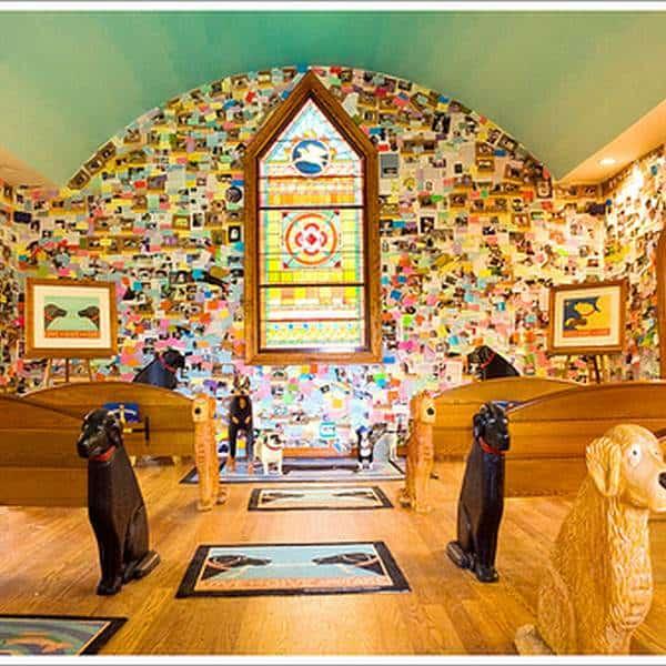 The Dog Chapel - St. Johnsbury, Vermont