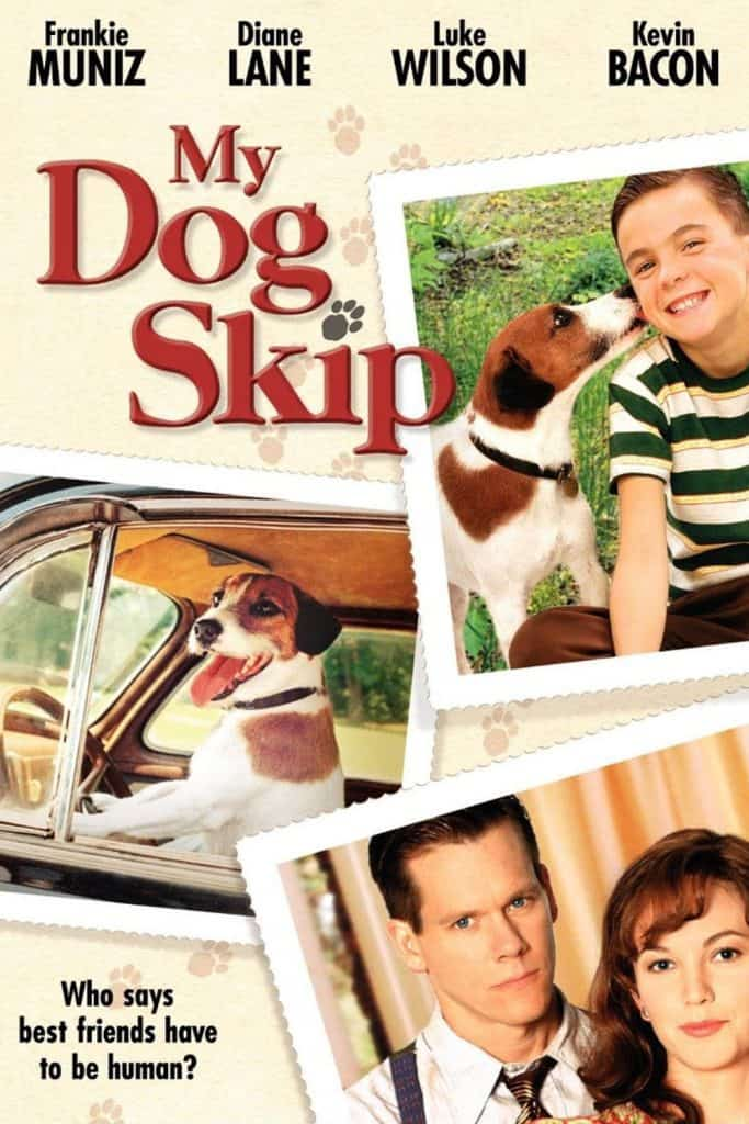 my dog skip The title of the book is my dog skipthe title is pretty strait forward because the book is about a kid that gets a dog the dogs name is skipper but they call him skip for short.