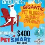 Win a $400 PetSmart Gift Card and More