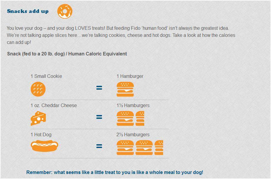 dog calories