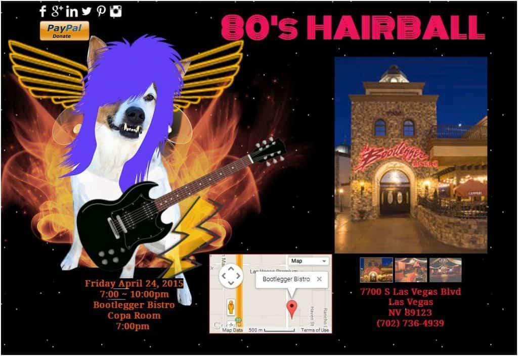 80s hairball