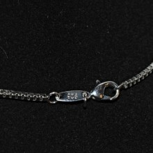 Sterling silver cocker spaniel pendant and chain