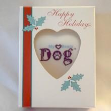 My Heart Beats Dog Ornament