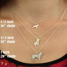 Sizing chart for necklaces
