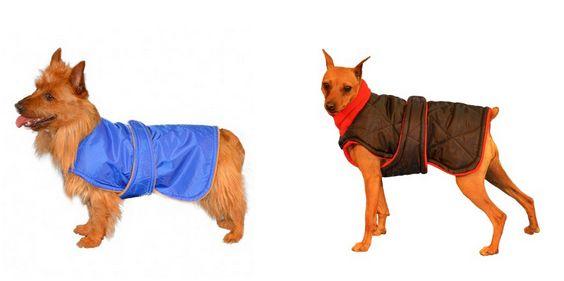 Custom dog coat by De