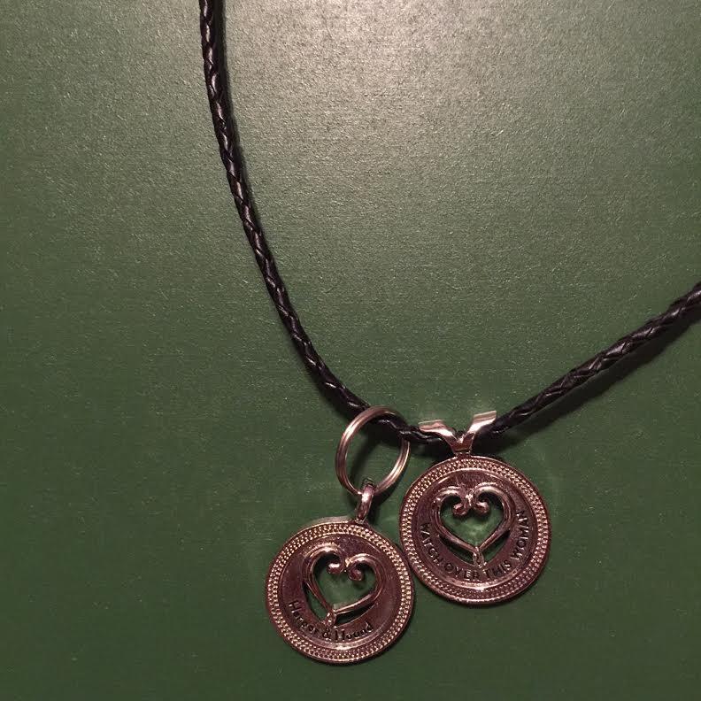 Dog mom necklace set Harper and Hound