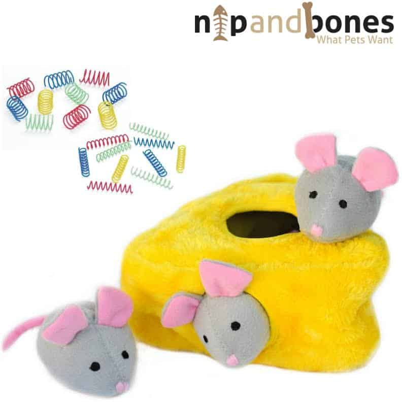 Mice and cheese toy from Nip and Bones