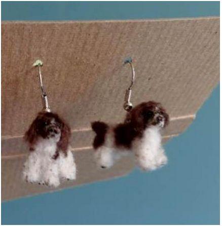 Cocker spaniel earrings