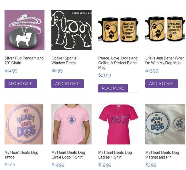Dog lover merchandise