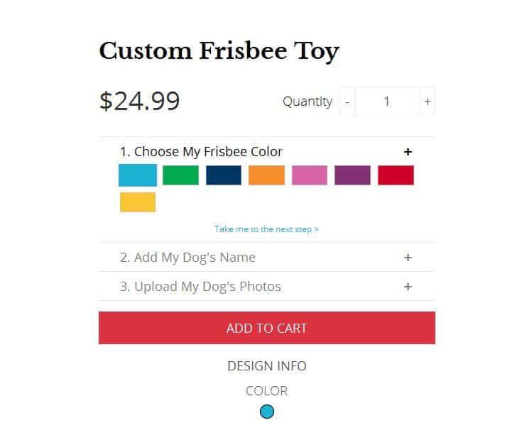 Pride Bites Frisbee options