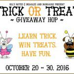 Teaching Your Dog To Move Trick or Treat Giveaway