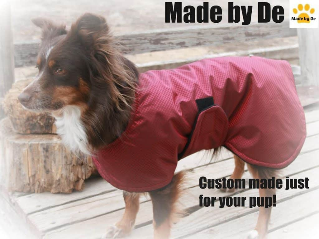 Winter coat made by De