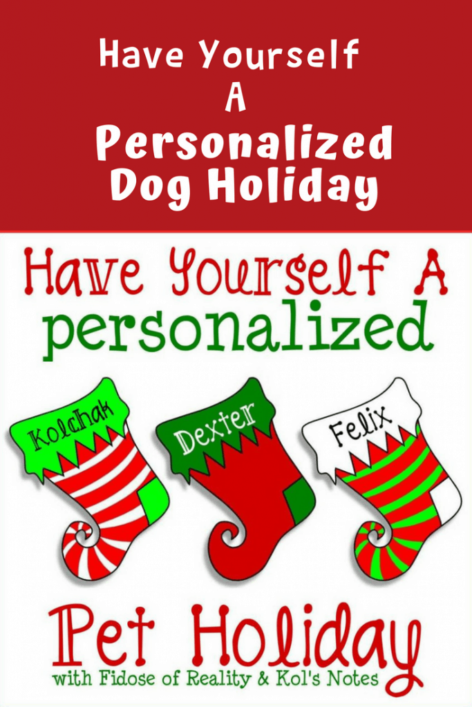 Have Yourself a Personalized Dog Holiday