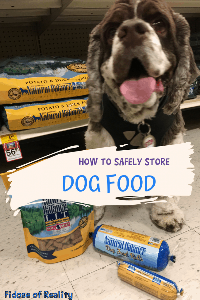 Dog Food Storage safety