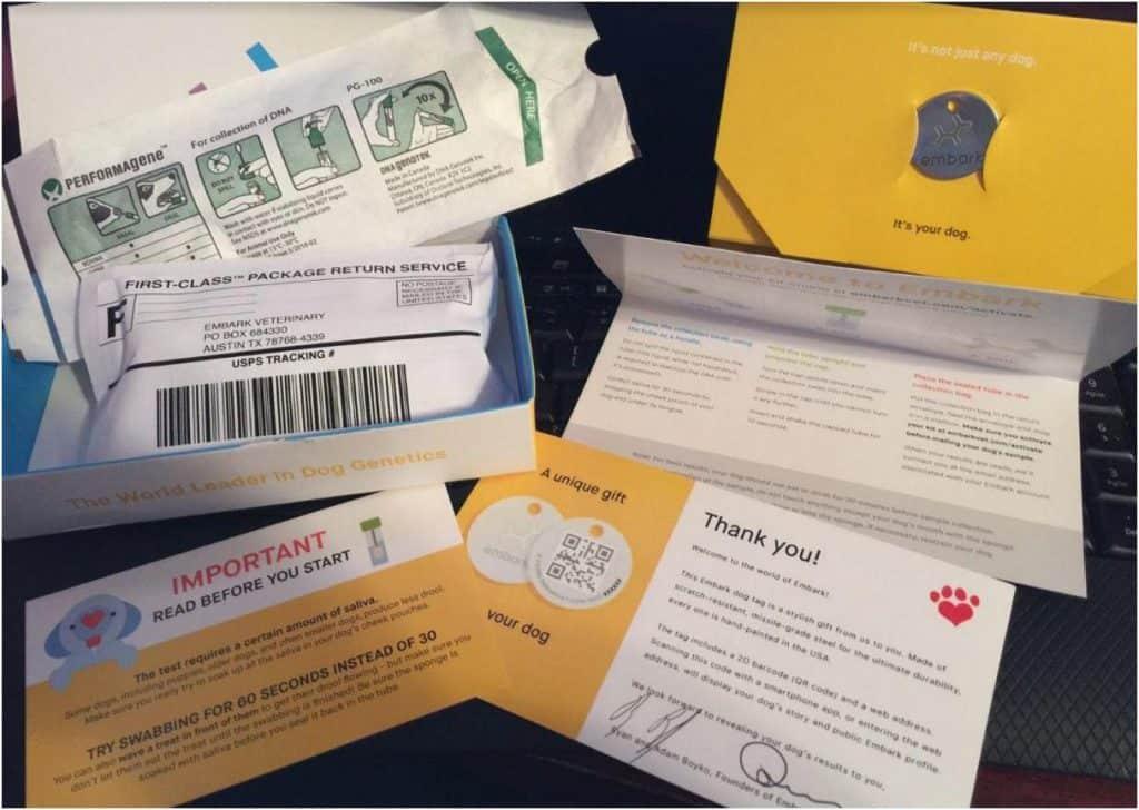 Dog genetic markers kit
