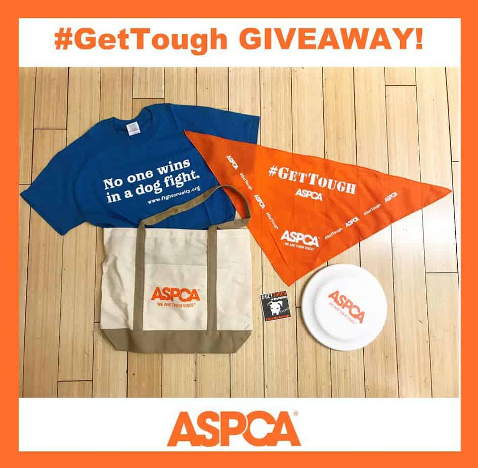 Get tough against dog fighting giveaway
