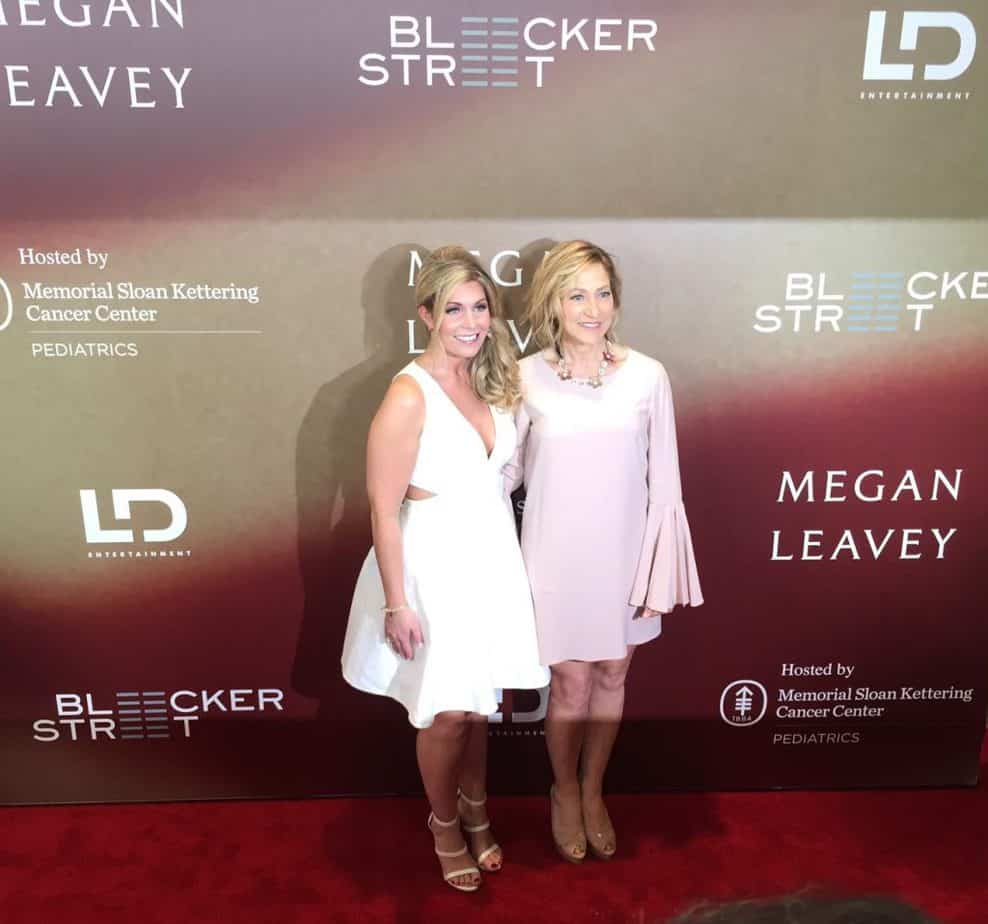 Megan Leavey and Edie Falco at Megan Leavey Movie