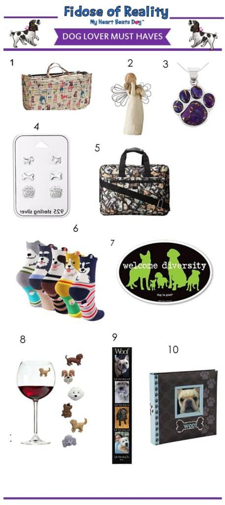 Dog lover items
