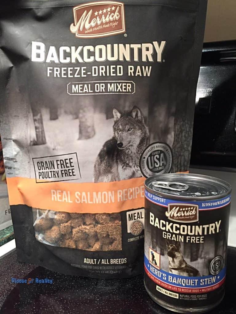 Merrick Backcountry treats