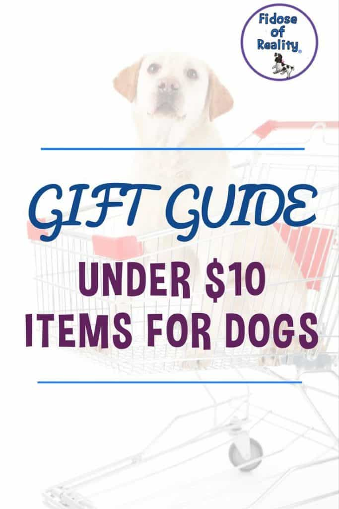 Gifts for dogs at a bargain