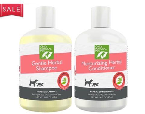 Organic dog shampoo conditioner
