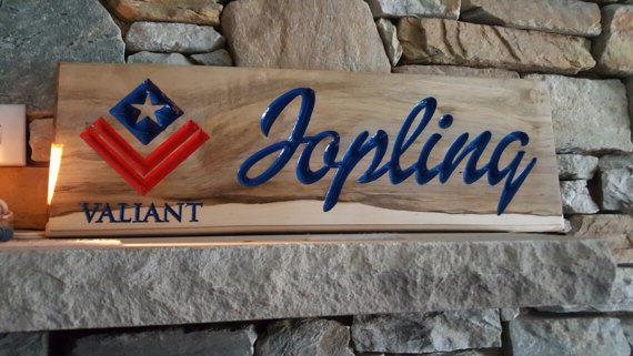 custom wooden sign