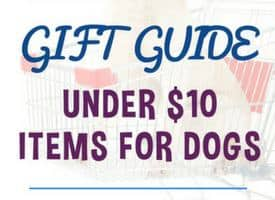 Gift Guide Under $10 For Dogs