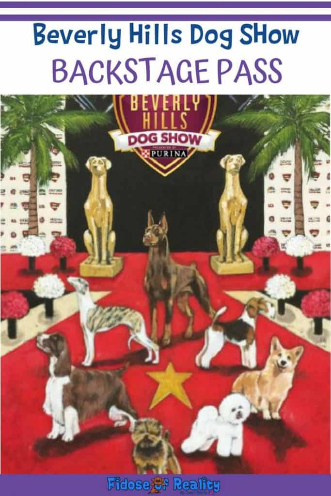 Beverly Hills Dog SHow BACKSTAGE PASS