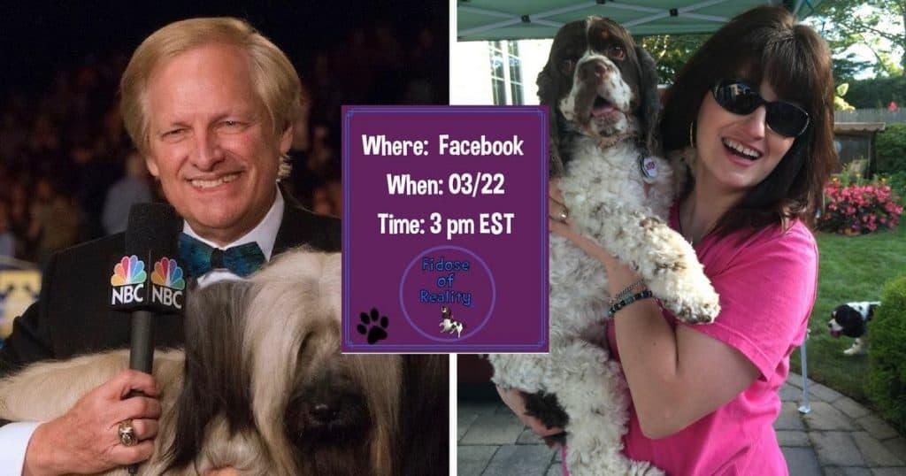 Facebook Live for Beverly Hills Dog Show