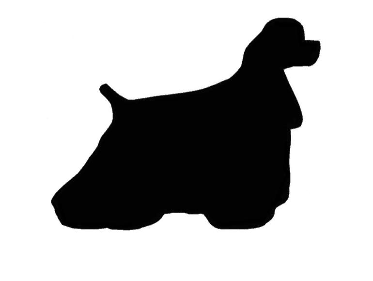 Cocker silhouette