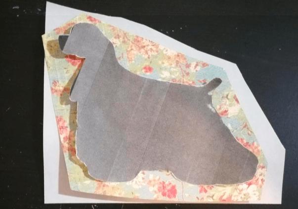 DIY dog magnet