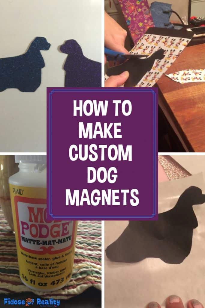 DIY dog magnets