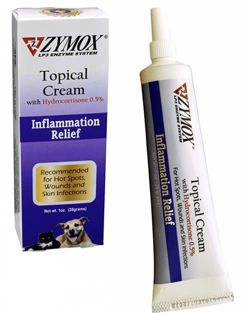 topical skin cream dog