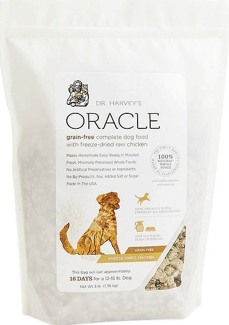 Dr Harvey's Oracle dog food