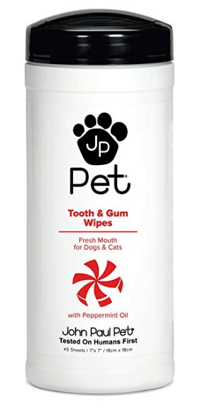 tooth and gum wipes for dog teeth