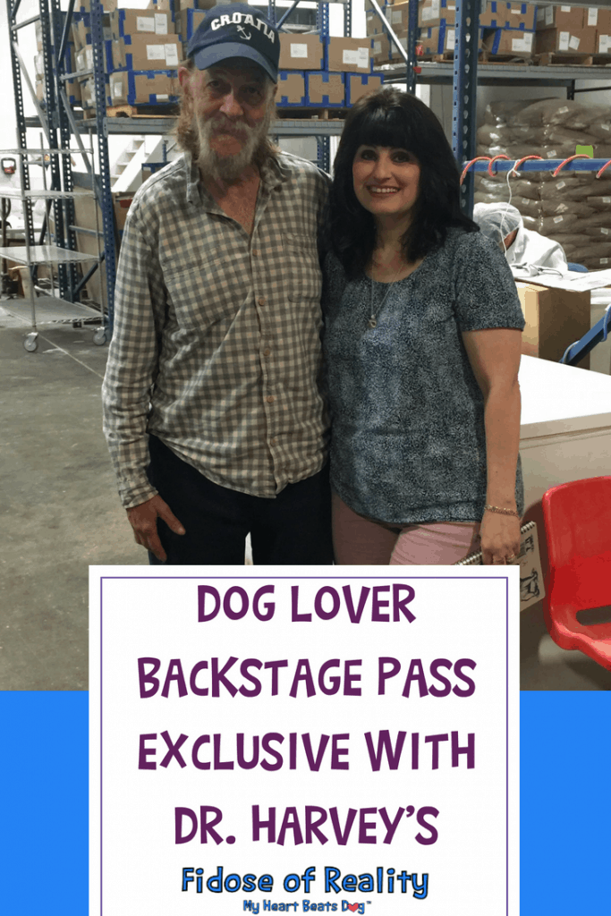Dog Lover Backstage Pass Exclusive With Dr. Harvey's