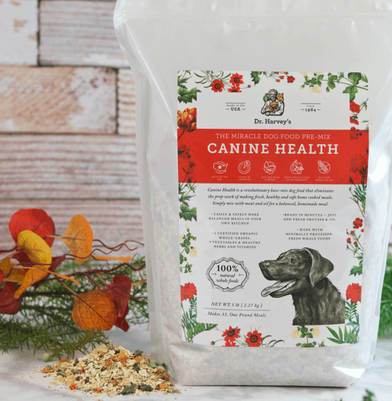 Canine health dog food