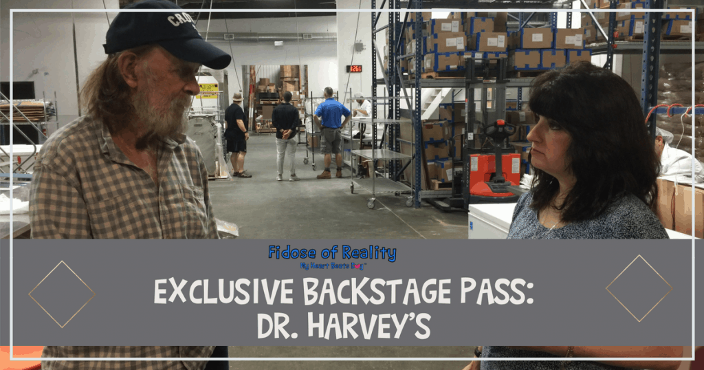 Dr Harveys Backstage Pass