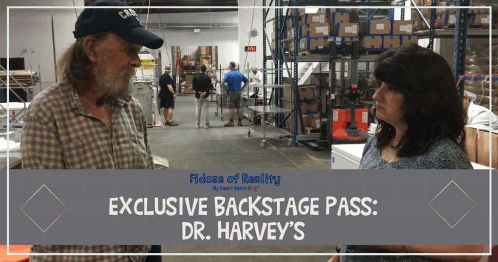 Dr Harveys Backstage Pass
