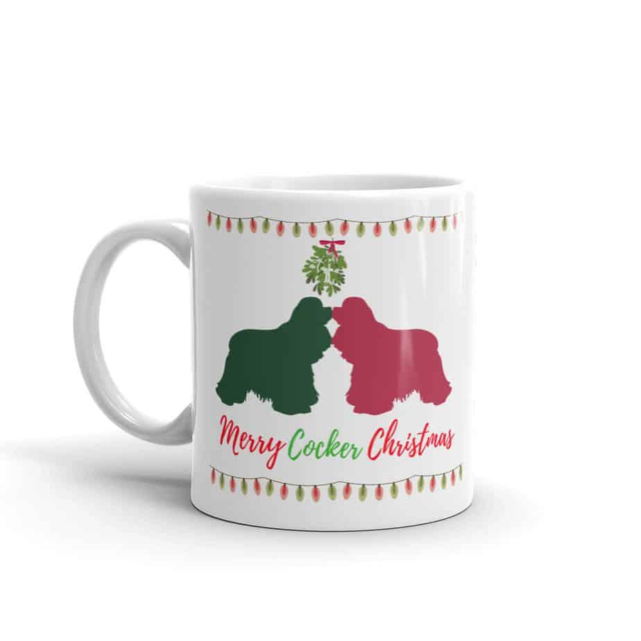 Merry Cocker Christmas mug