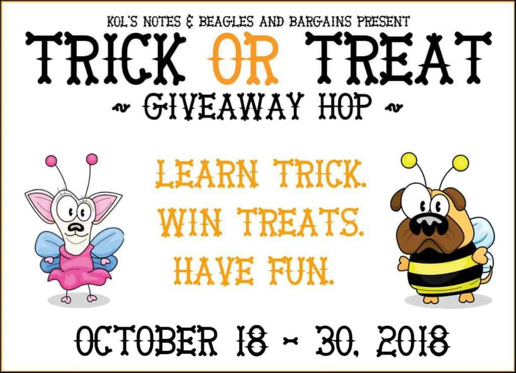 Trick or Treat giveaway for dogs