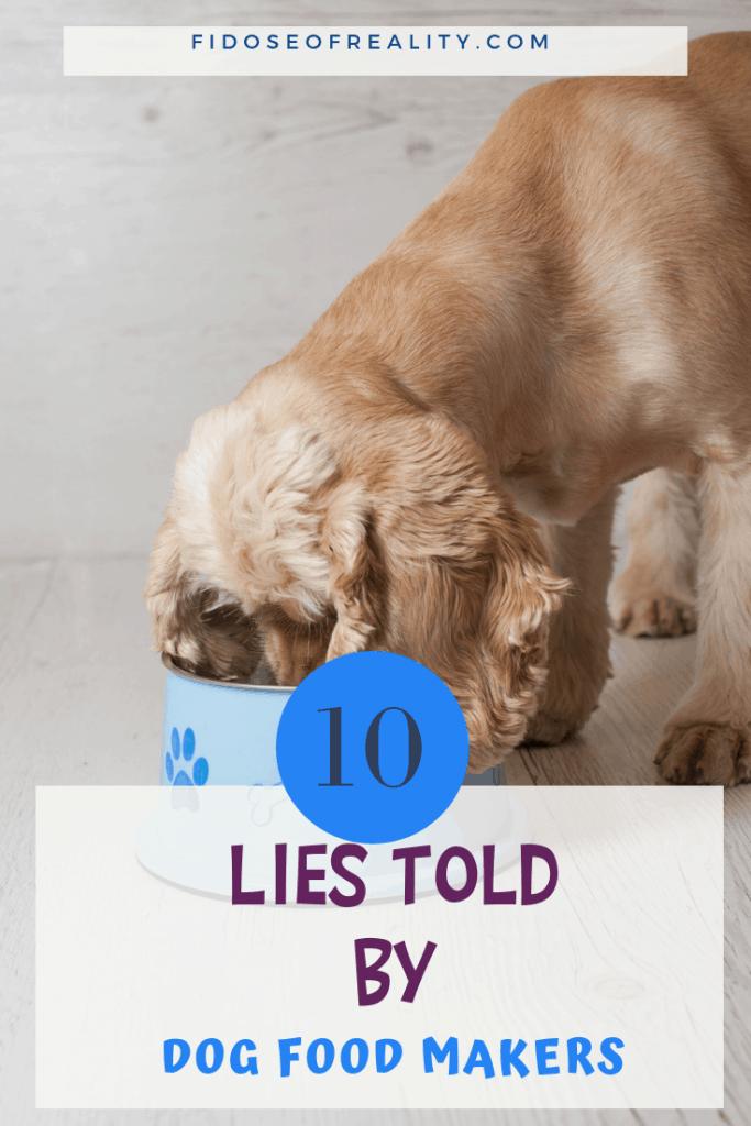 dog food lies