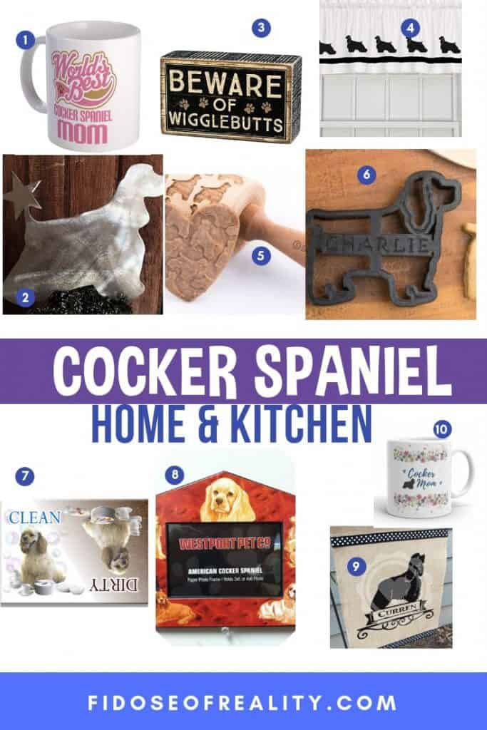 COCKER SPANIEL KITCHEN GIFTSA