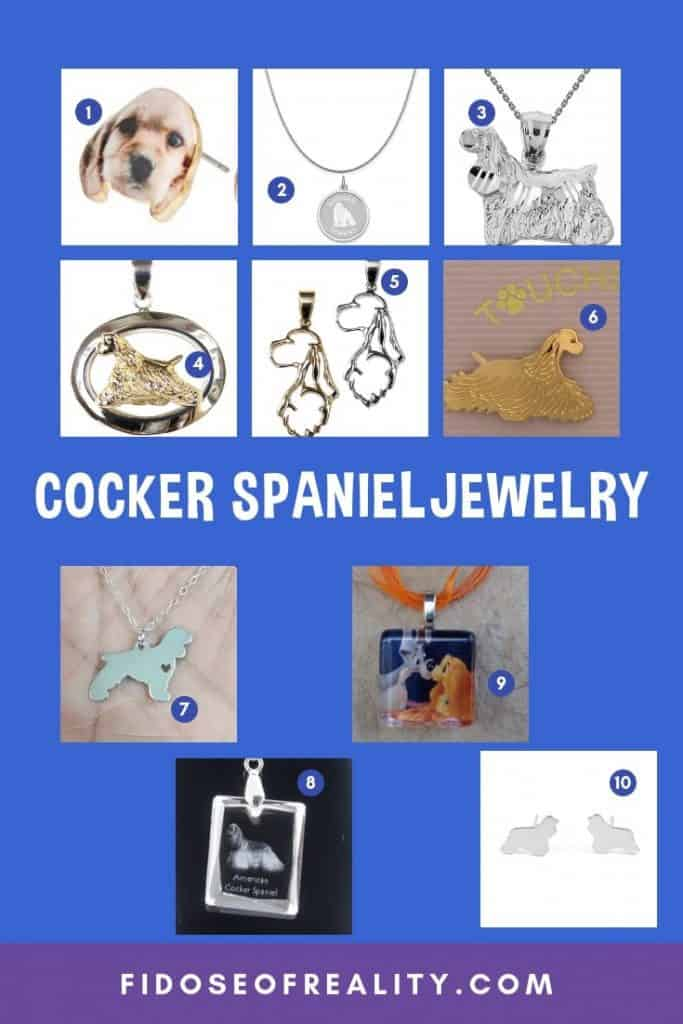 Cocker Spaniel jewelry