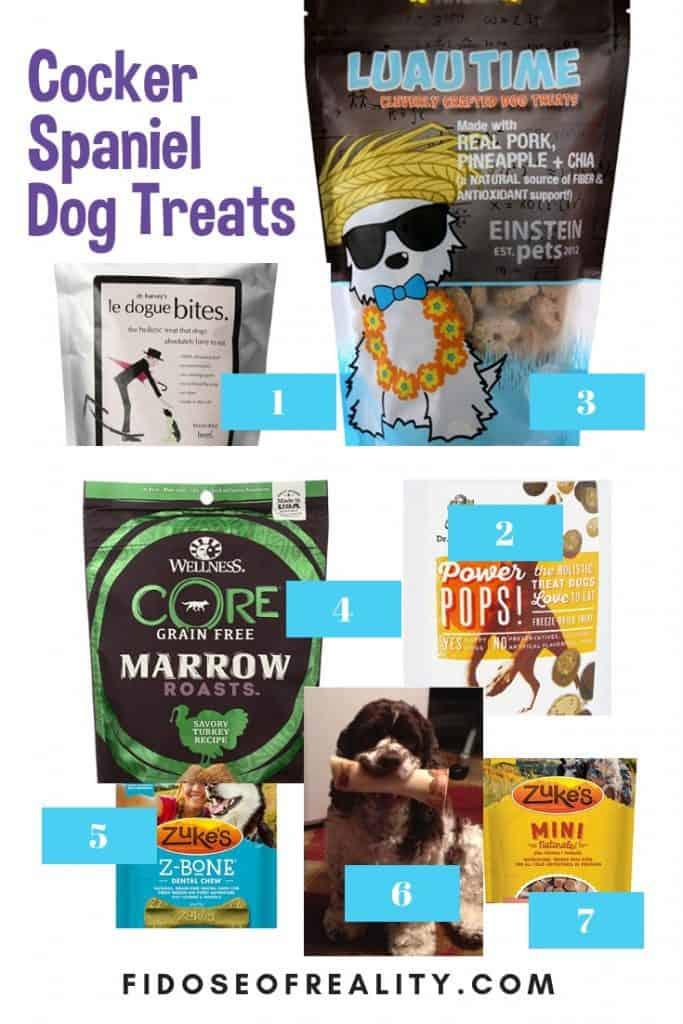cocker spaniel dog treats