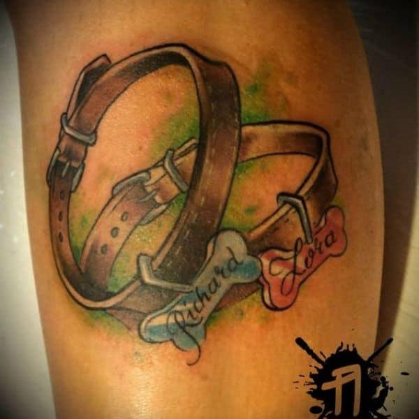 dog collar ink