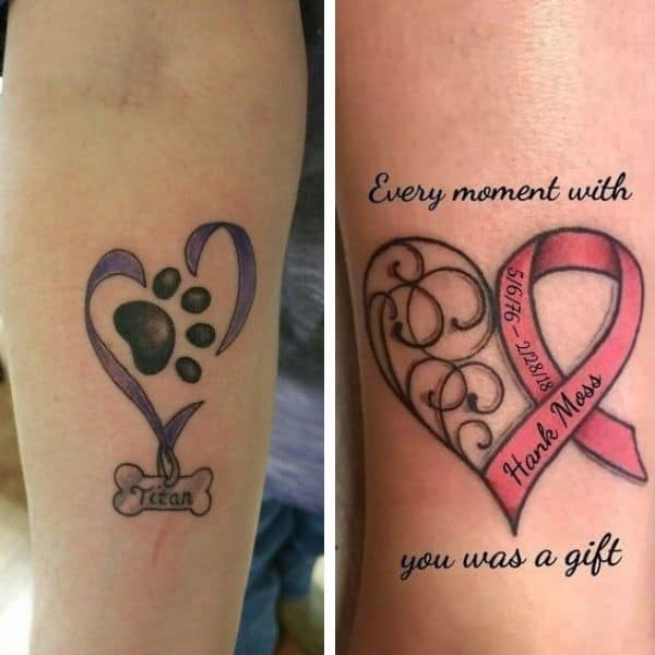 tattoos in remembrance