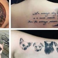 dog lover tattoo ideas